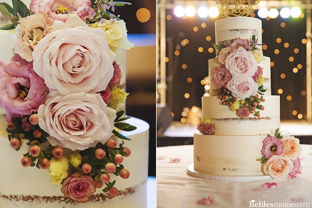 weddingcake flowers