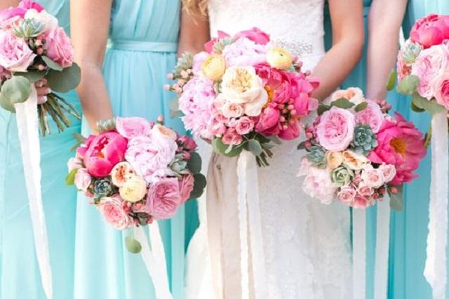 Bruidsmeisjes boeket