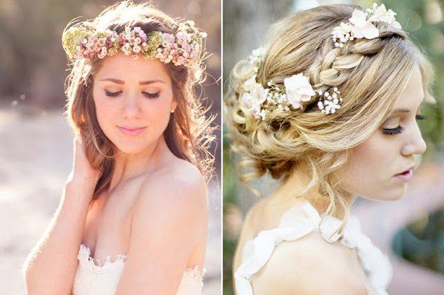 Haarbloemen of haarcorsage