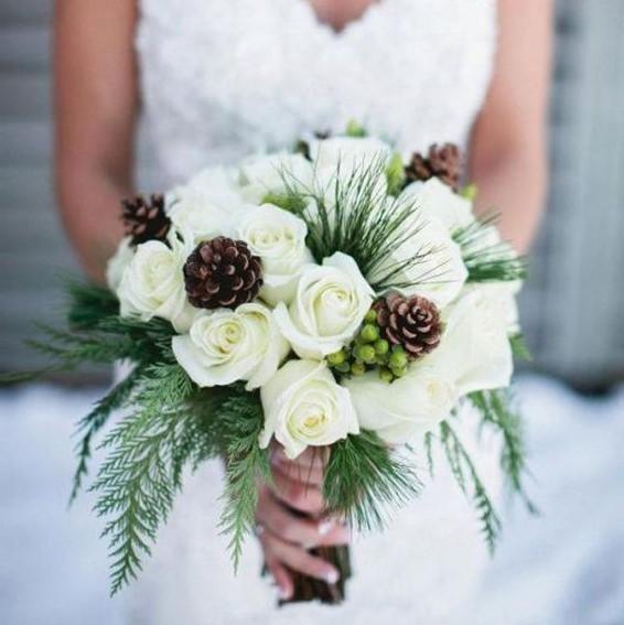 Bruidsmeisjes handcorsages