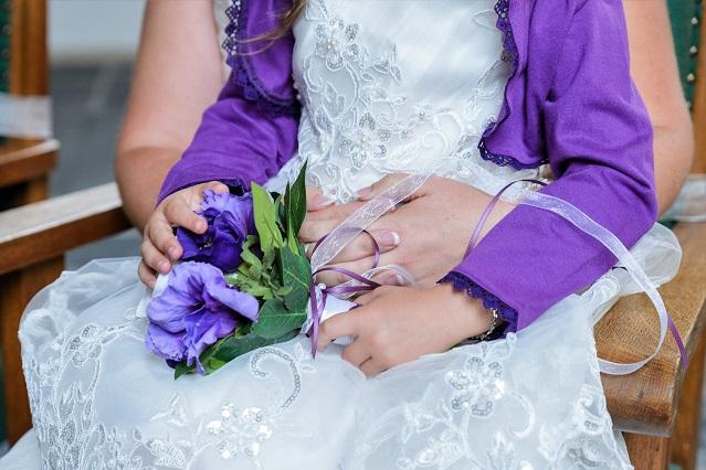 bruidsmeisjes zijde