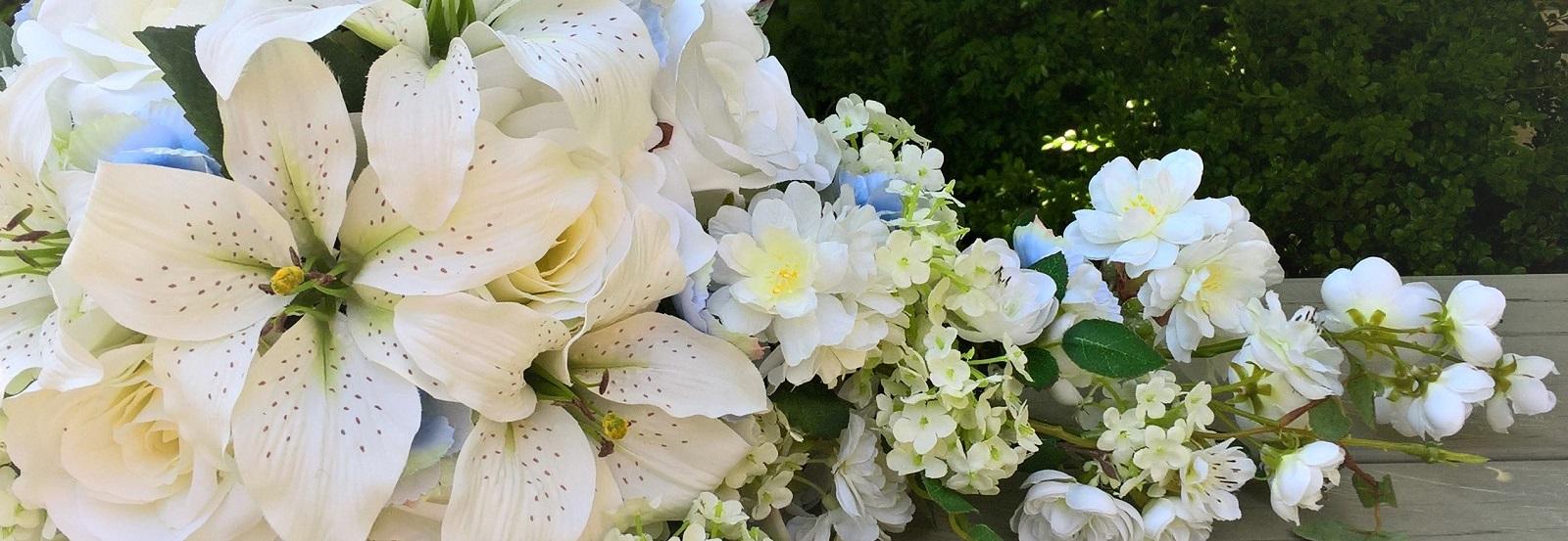 zijdenbruidsboeket denhaag zijde kunstbloemen